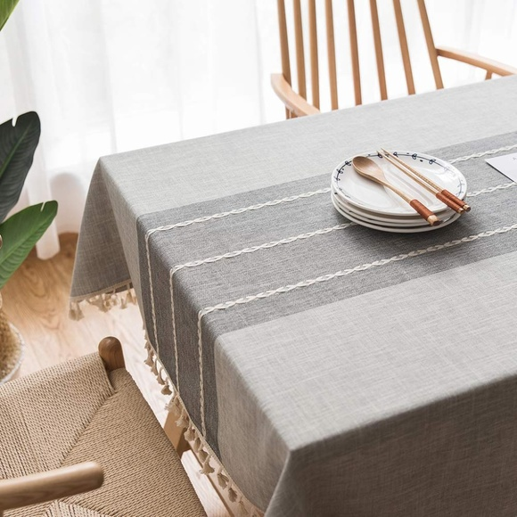 "Other - MoMA Gray TableCloth (55""x70"")"